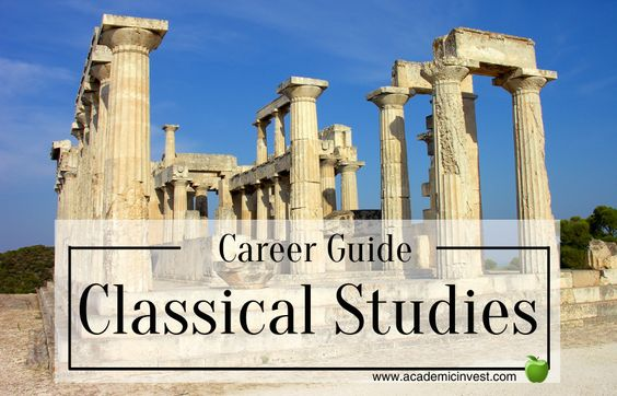 What you can do with a classical studies degree