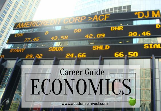 What you can do with an economics degree