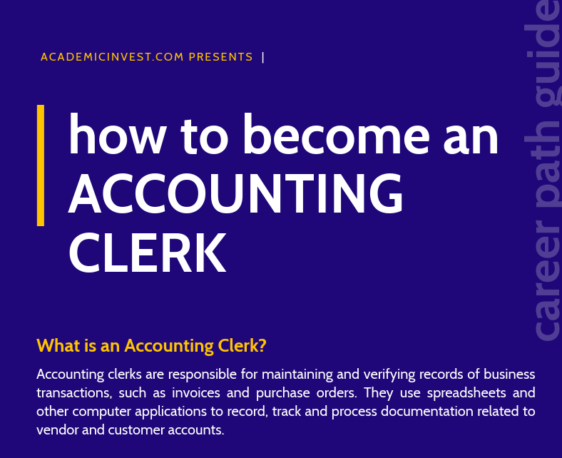 How to Become an Accounting Clerk