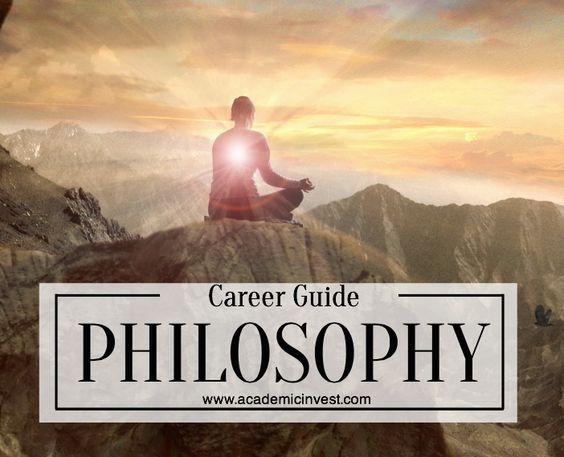 What you can do with a philosophy degree